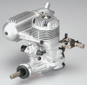 O.S. .46 LA engine - a plain bearing engine