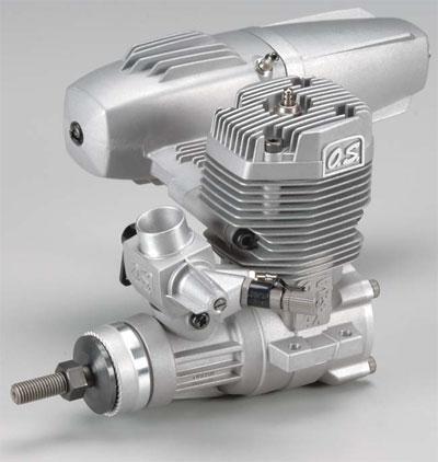 O.S .55 AX ball bearing ABC engine