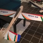 Test fitting wings